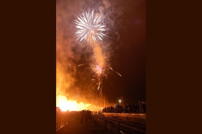 Bonfire Night at the Great Central Railway