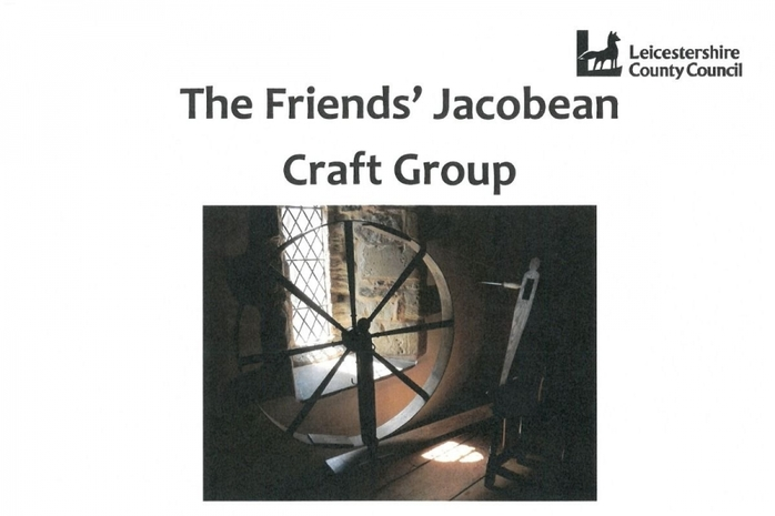 Friend's Jacobean Craft Day