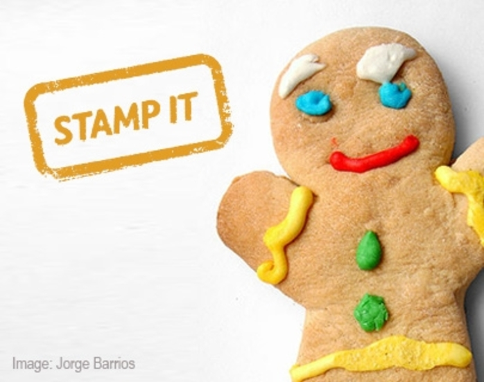 STAMP IT Gingerbread Man